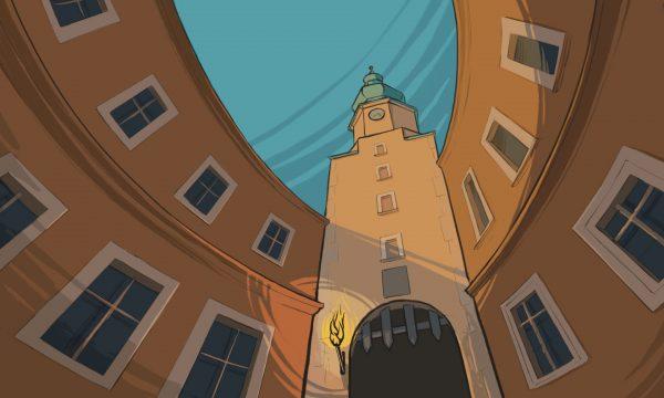 Imprisoned by four gates - Bratislava
