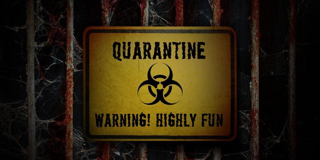 Quarantine - online puzzle-hunt