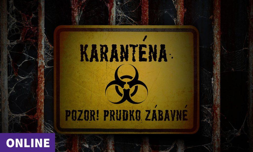 Karanténa - Online šifrovačka