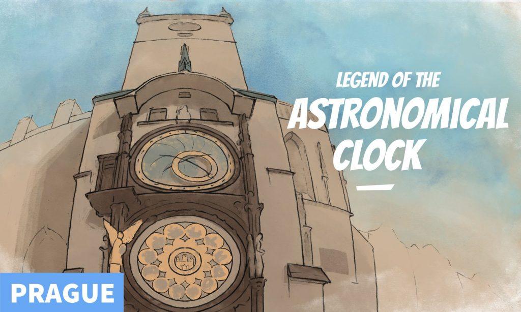 Legend of the astronomical clock - Puzzle hunt Prague
