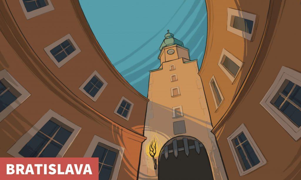 Imprisoned by four gates - Puzzle hunt Bratislava