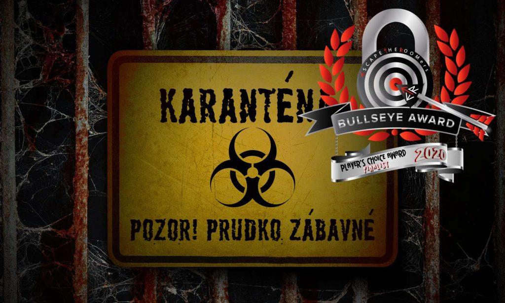 Karantena - ocenená online šifrovacia hra