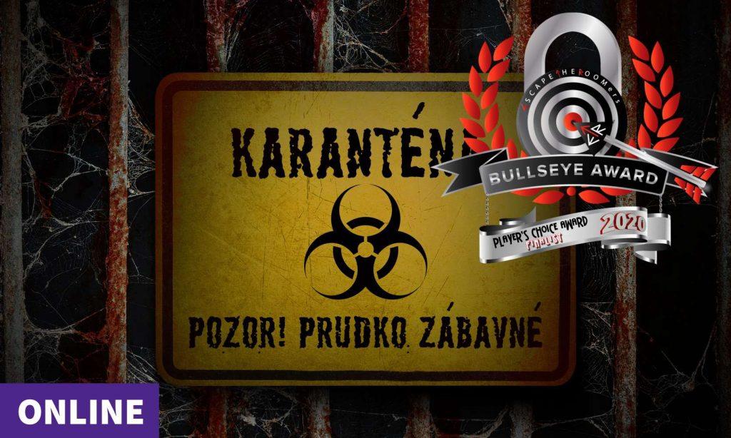 Karantena - ocenená šifrovacia hra online